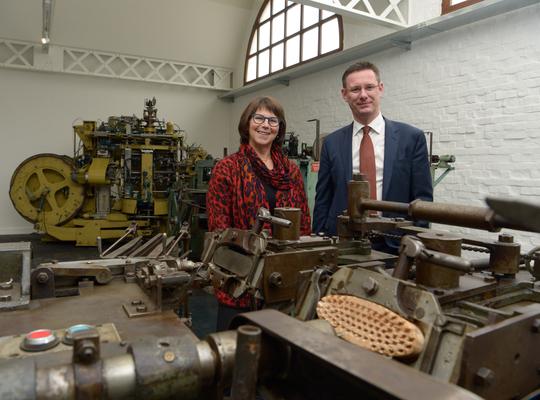 Machines verhuisd naar museumsite Eperon d'Or (Foto: Frank Meurisse)