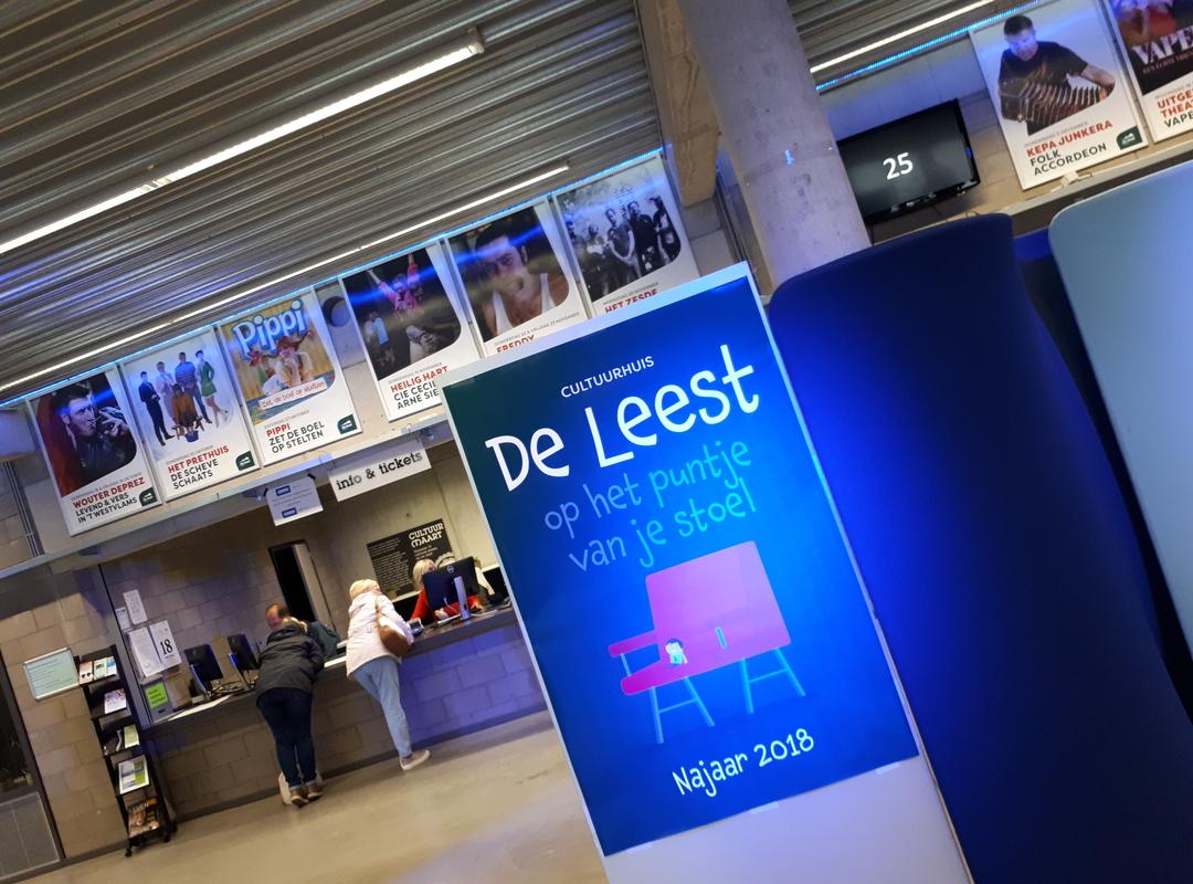 Cultuurhuis De Leest neemt deel aan grootschalig gebruikersonderzoek
